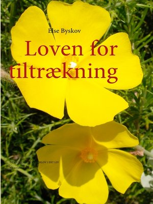cover image of Loven for tiltrækning