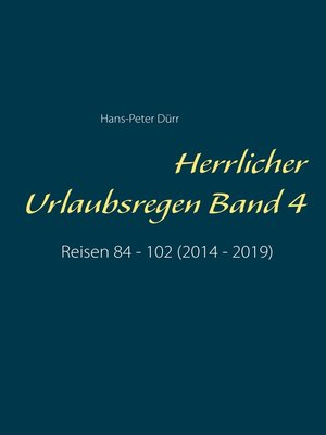 cover image of Herrlicher Urlaubsregen Band 4
