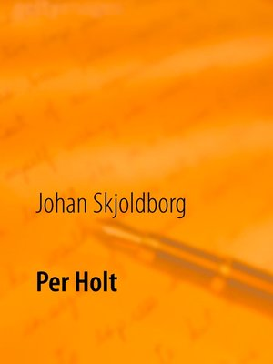 cover image of Per Holt