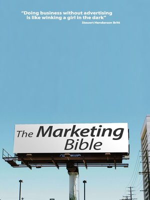 cover image of The Marketing Bible