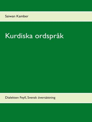 cover image of Kurdiska ordspråk