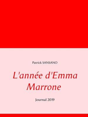 cover image of L'année d'Emma Marrone
