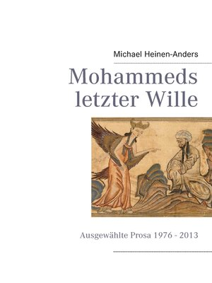 cover image of Mohammeds letzter Wille