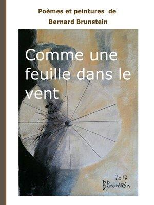 cover image of Comme une feuille dans le vent