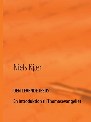 cover image of Den levende Jesus