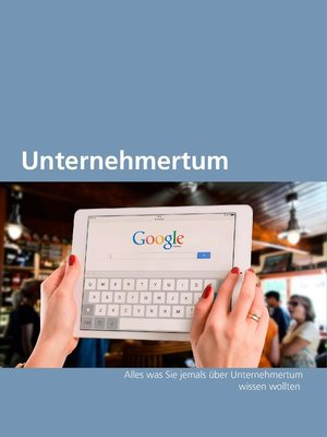 cover image of Unternehmertum