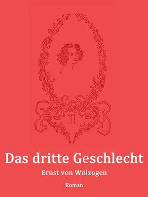 cover image of Das dritte Geschlecht