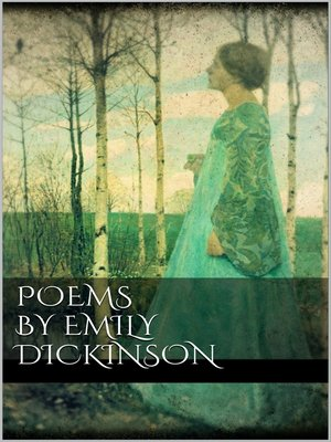 cover image of Poems by Emily Dickinson