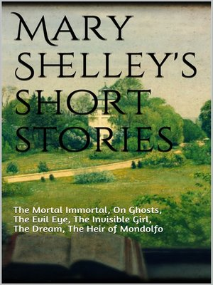 cover image of Mary Shelley's short stories