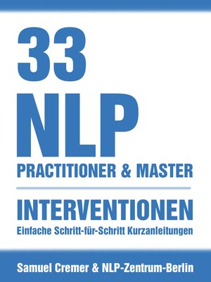 cover image of 33 NLP Interventionen