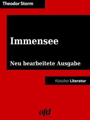 cover image of Immensee
