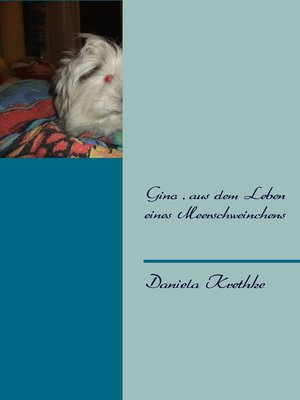 cover image of Gino, aus dem Leben eines Meerschweinchens