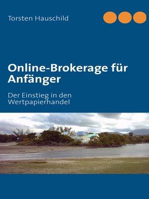cover image of Online-Brokerage für Anfänger