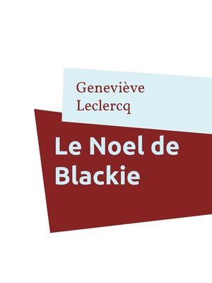 cover image of Le Noel de Blackie