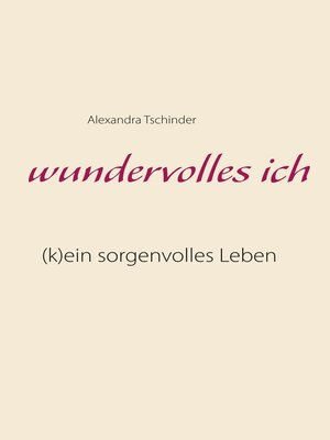 cover image of wundervolles ich