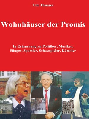 cover image of Wohnhäuser der Promis