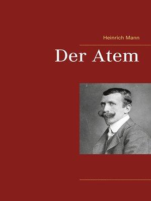 cover image of Der Atem