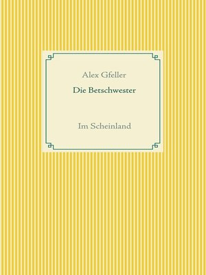 cover image of Die Betschwester