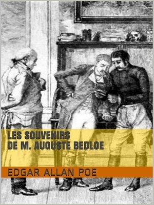 cover image of Les Souvenirs de M. Auguste Bedloe