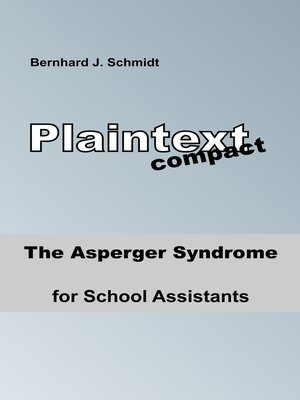 cover image of The Asperger Syndrome for School Assistants