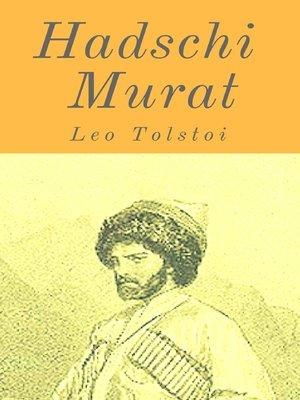 cover image of Hadschi Murat