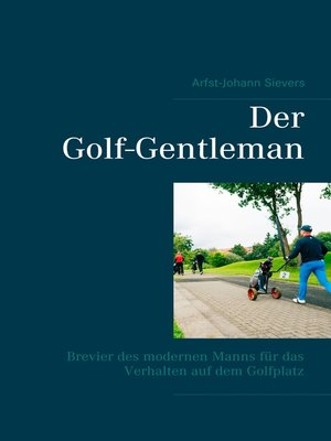 cover image of Der Golf-Gentleman