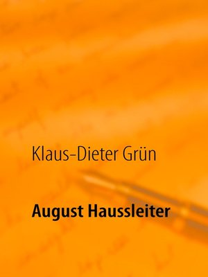 cover image of August Haussleiter