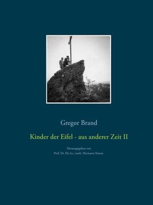cover image of Kinder der Eifel--aus anderer Zeit II