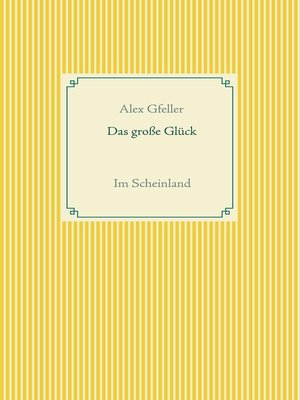 cover image of Das große Glück
