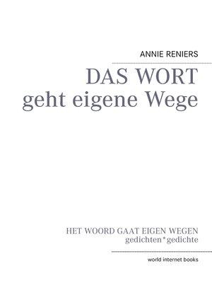 cover image of DAS WORT geht eigene Wege