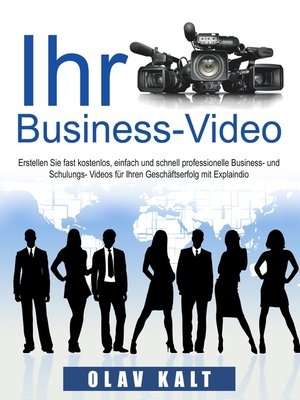 cover image of Business-Video erstellen für Einsteiger