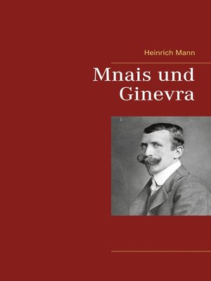 cover image of Mnais und Ginevra