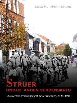 cover image of Struer under Anden Verdenskrig