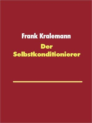 cover image of Der Selbstkonditionierer