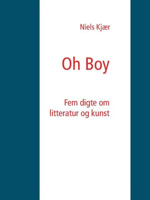 cover image of Oh Boy