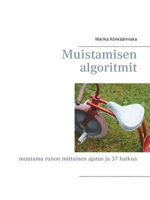 cover image of Muistamisen algoritmit