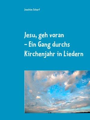 cover image of Jesu, geh voran