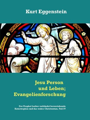 cover image of Jesu Person und Leben; Evangelienforschung