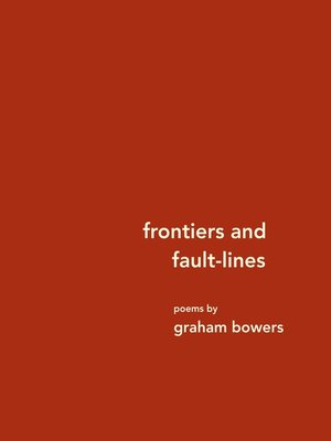 cover image of frontiers and fault-lines