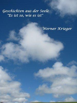 """cover image of Geschichten aus der Seele--""""Es ist so, wie es ist"""""""