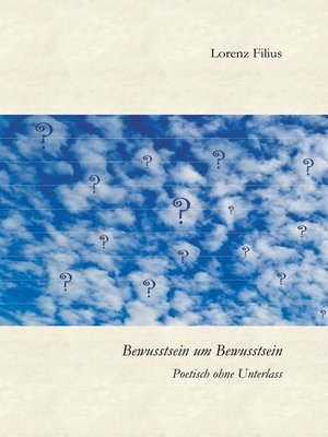 cover image of Bewusstsein um Bewusstsein