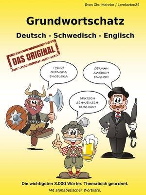 cover image of Grundwortschatz Deutsch--Schwedisch--Englisch