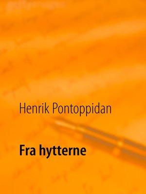 cover image of Fra hytterne
