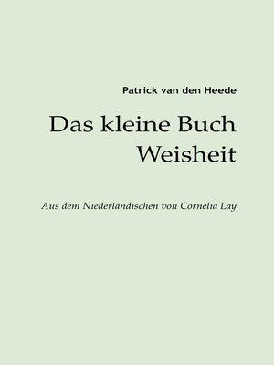 cover image of Das kleine Buch Weisheit