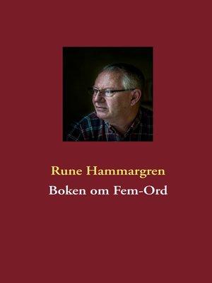 cover image of Boken om Fem-Ord