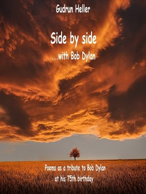 cover image of Side by side with Bob Dylan