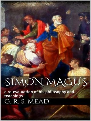 cover image of Simon Magus