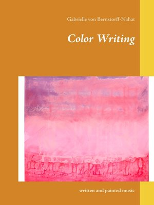 cover image of Color Writing