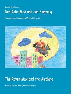 cover image of Der Rabe Max und das Flugzeug