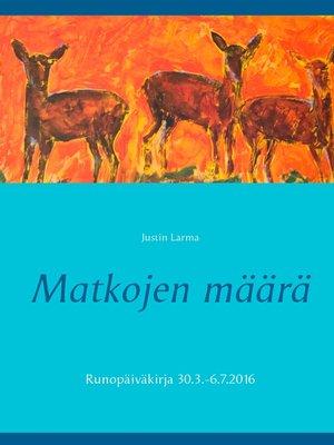 cover image of Matkojen määrä